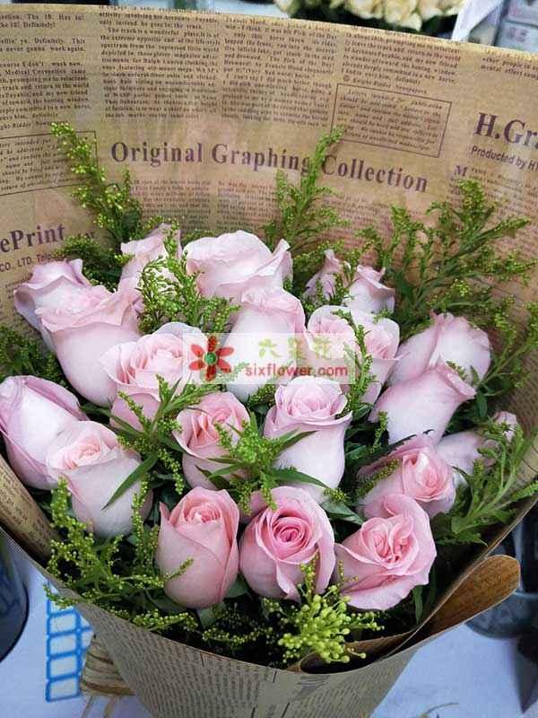 送庐江县塔山西路附近城西小学的花