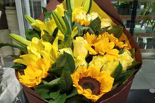 爷爷生日送什么花?