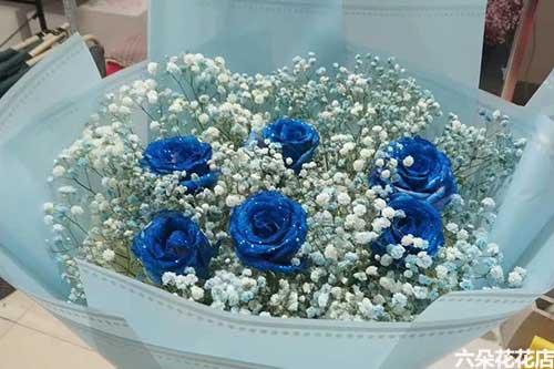 蓝玫瑰多少钱一束,蓝玫瑰怎么卖的?