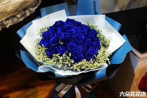 19朵蓝色妖姬的花语是什么