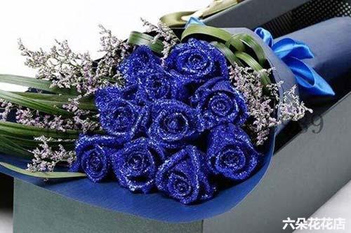 11朵蓝玫瑰多少钱一束?11朵蓝玫瑰的花语是什么?