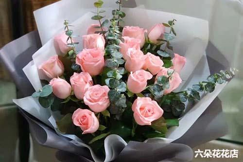 16朵粉玫瑰多少钱
