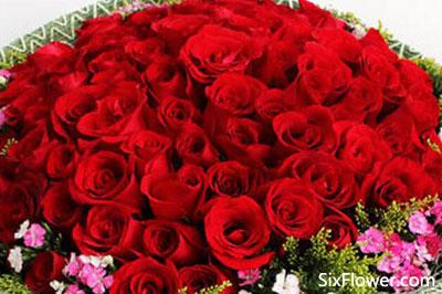 七夕节送99朵红玫瑰还是送99朵粉玫瑰好?