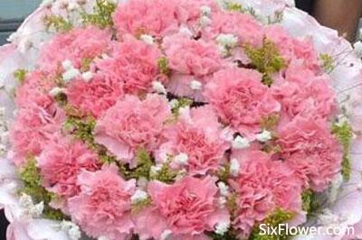 给妹妹送花,祝福妹妹永远年轻漂亮~