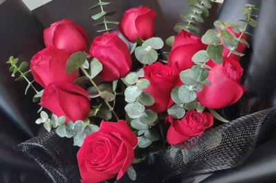 情人节最受欢迎的玫瑰花:11朵红玫瑰!