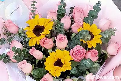同事生日送花适合吗?同事生日送什么花?