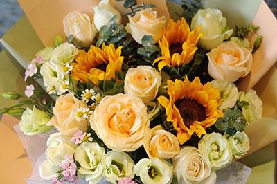 孩子大学开学的开学礼物,送上一束鲜花给孩子!