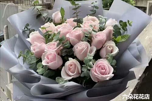17枝玫瑰花语