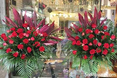情人的店开业送玫瑰开业花篮,玫瑰开业花篮多少一个?