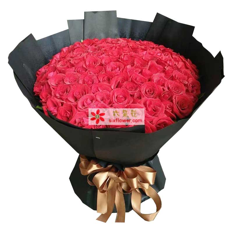 99枝红色玫瑰