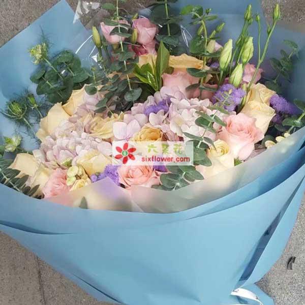 上海松江区文汇路四期学生公寓送花