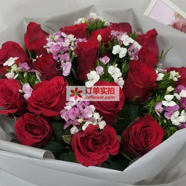 深圳罗湖区沿河南路汇泰大厦送花
