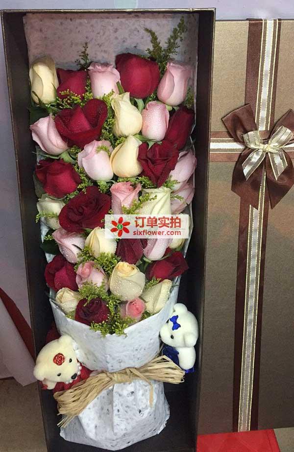温州市鹿城区欧州城拉斯维加斯送花