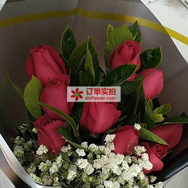 天津西青区中北镇外环线八号桥送花