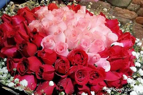 妈妈送花?