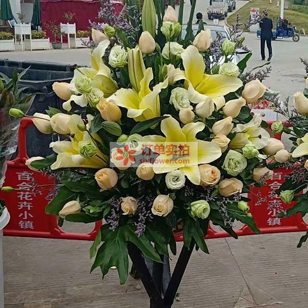 上海宝山区美丹路佳欣苑美康鲜食送花