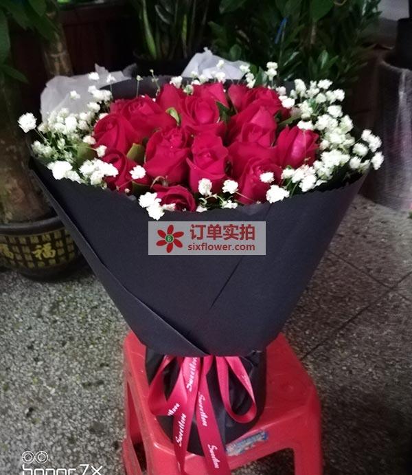 东莞市石排镇上宝谭九巷送花