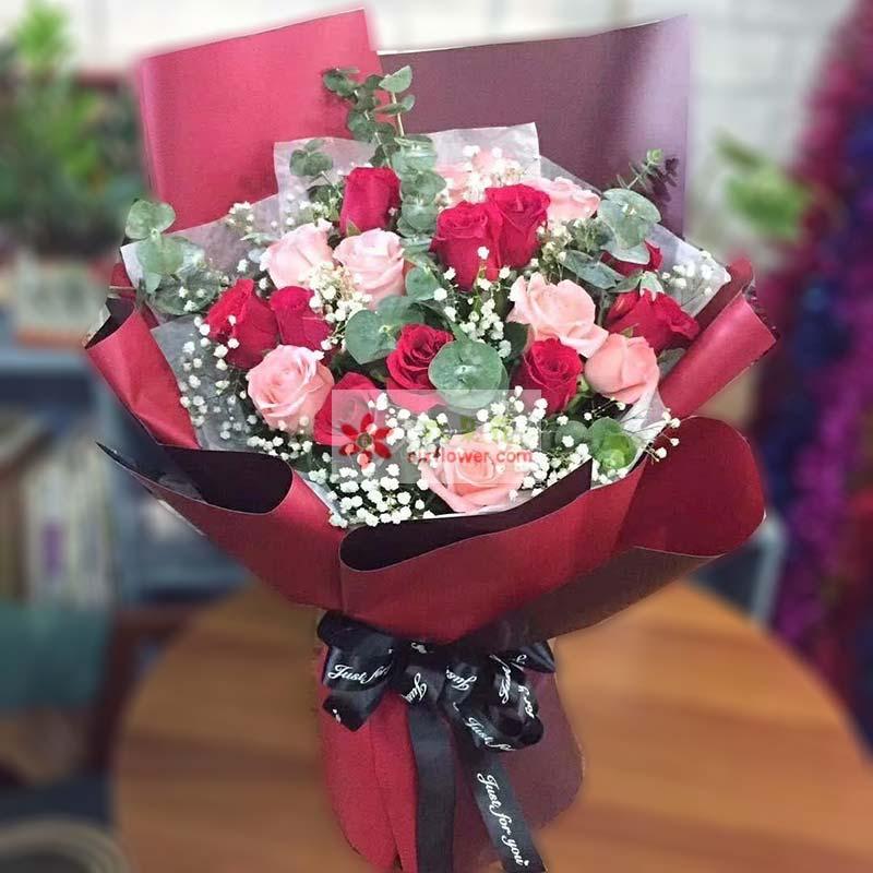 17枝玫瑰