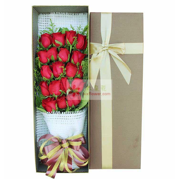 19朵红玫瑰,黄英丰满