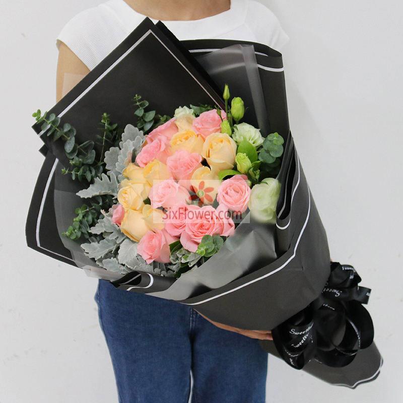 19朵玫瑰,爱你的心幸福又温暖