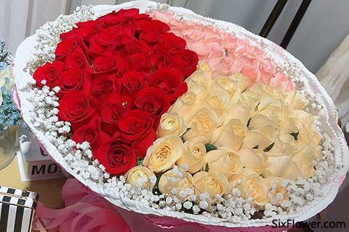 520什么花最受顾客欢迎?99朵玫瑰花!