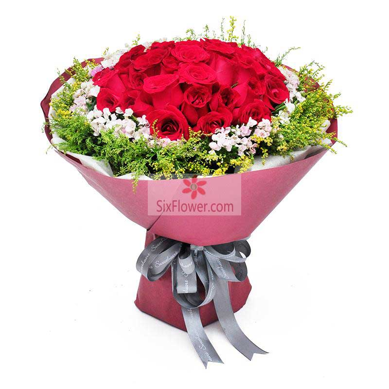 21朵红玫瑰,我不能没有你