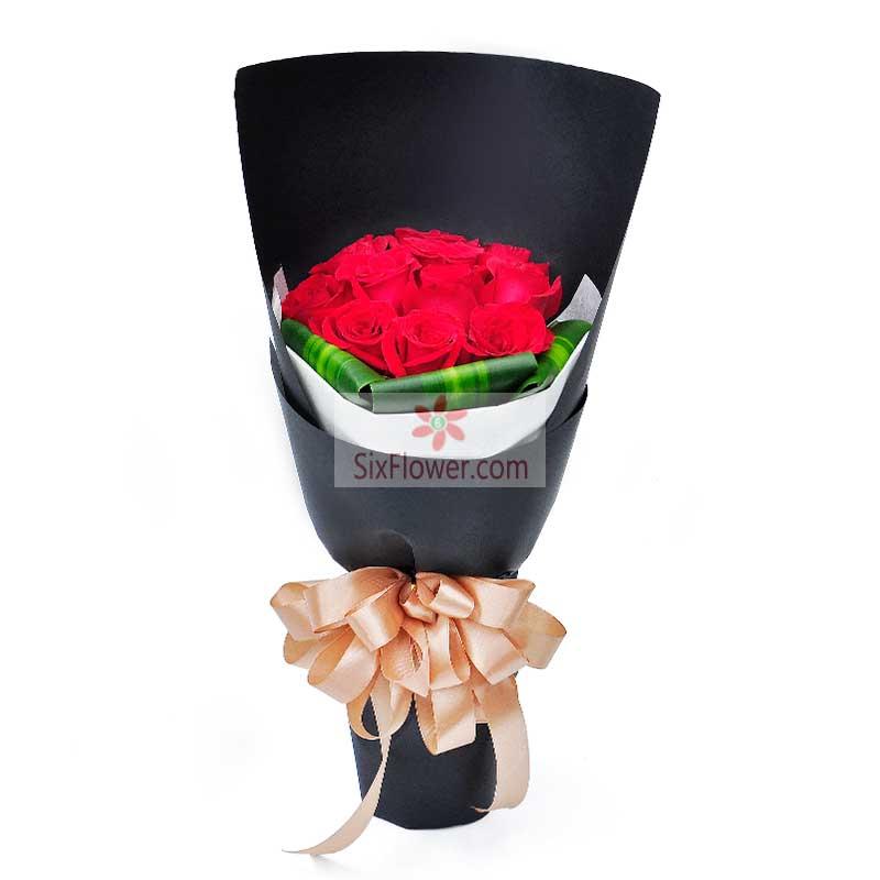 11朵红玫瑰,我不能没有你