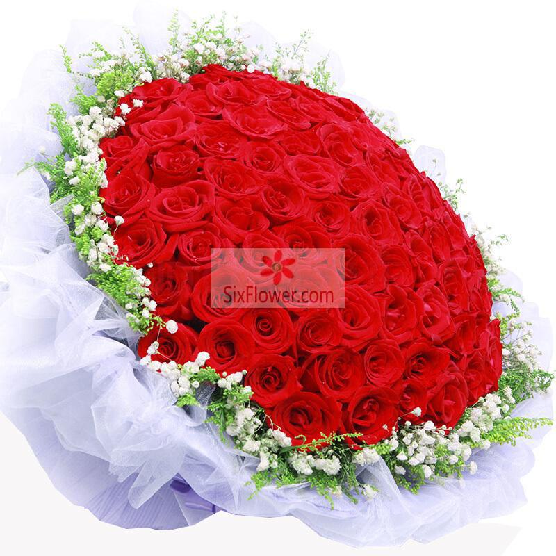 99朵红玫瑰,与你分享一切