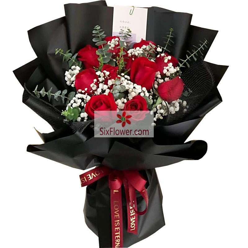 11朵红玫瑰,有你才幸福