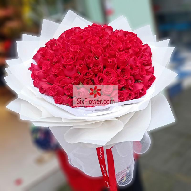 99朵红玫瑰,你是我的天上人间
