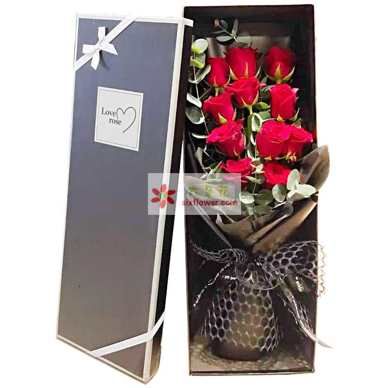 11朵红玫瑰礼盒,你是我的唯一