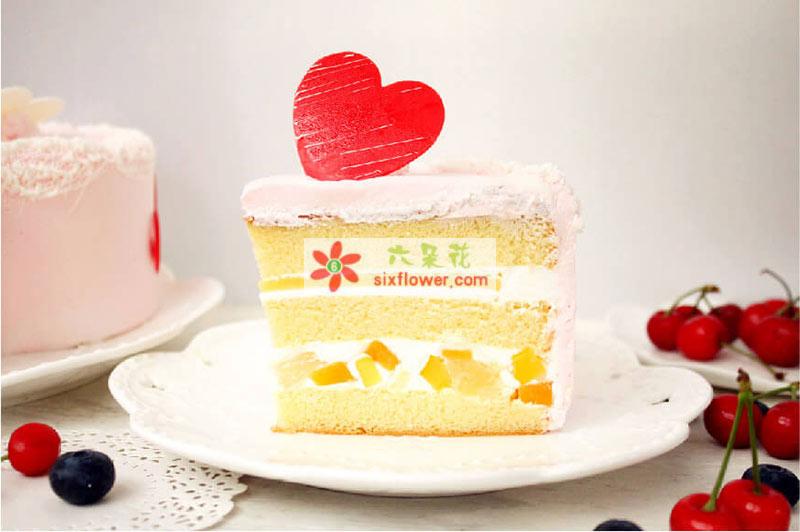 8寸元祖情有独衷鲜奶蛋糕