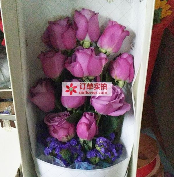 温州娄桥吹台中路温州森马协和国际学校送花