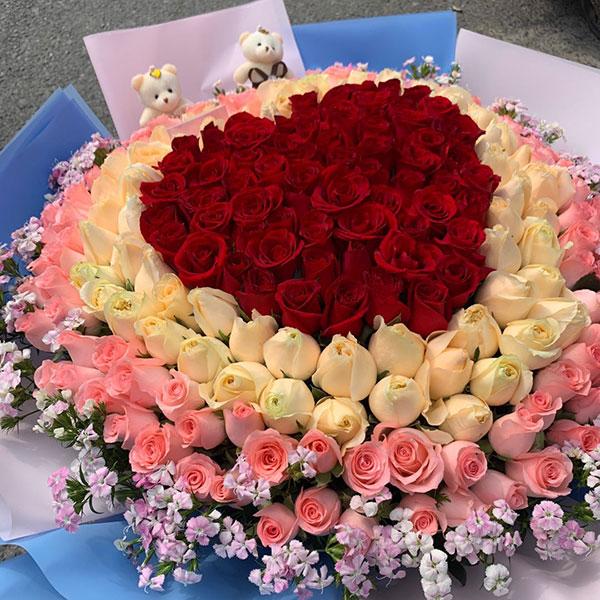 杭州滨安路送花