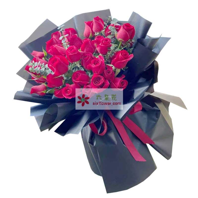 29朵红玫瑰,爱你是我的正确选择