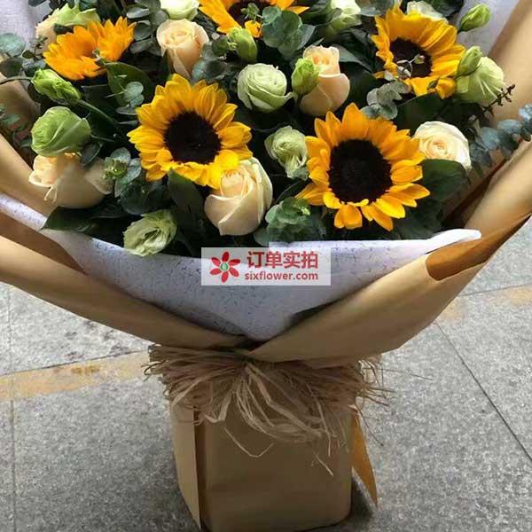 南京市鼓楼区天福园送花