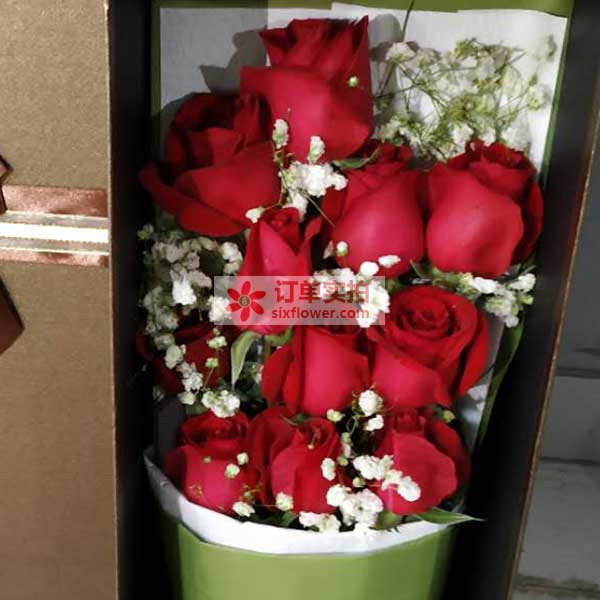 大年三十,西安曲江陕师大附中附近送花