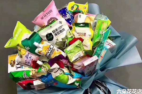六一儿童节送什么花?零食鲜花创意无限!