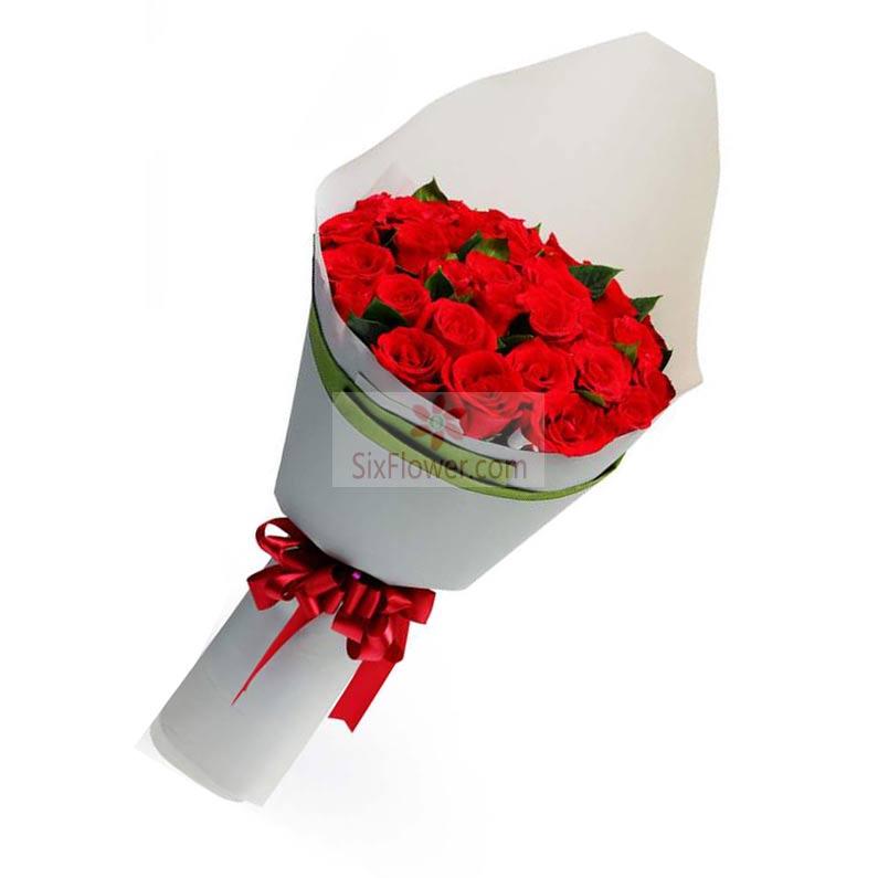 23朵红玫瑰,我的心里有你