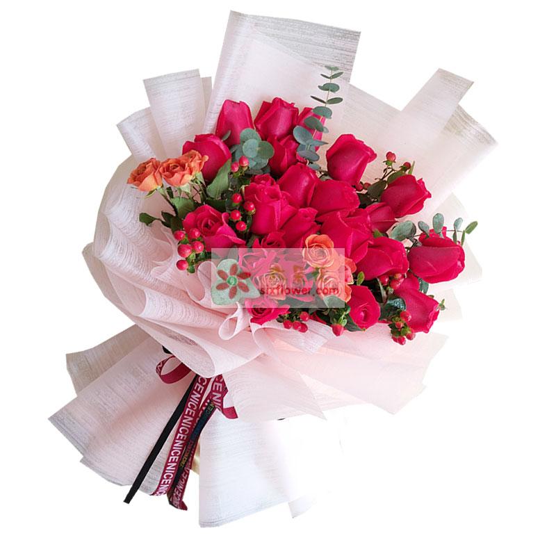 30朵红玫瑰,永远守护的恒星