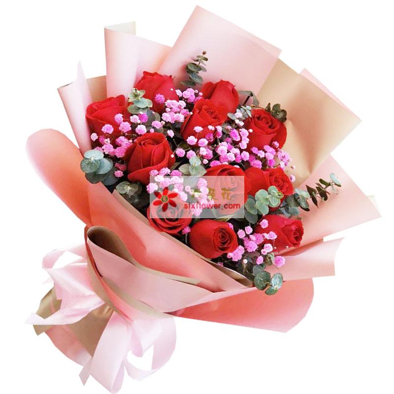 11朵红玫瑰,你的美让我的心跳