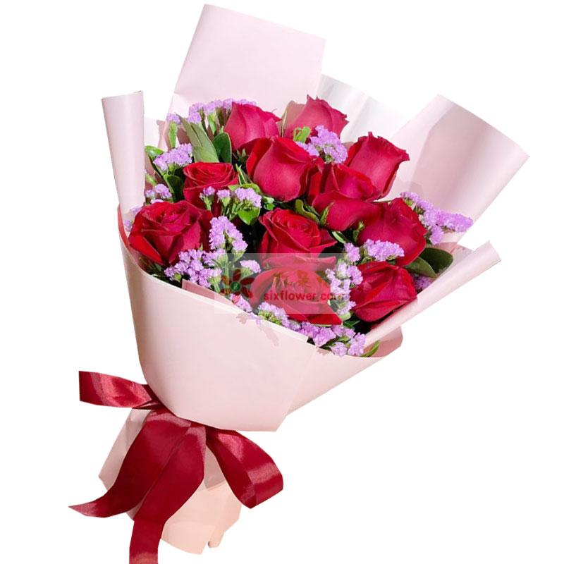 11朵红玫瑰,永恒的恋情