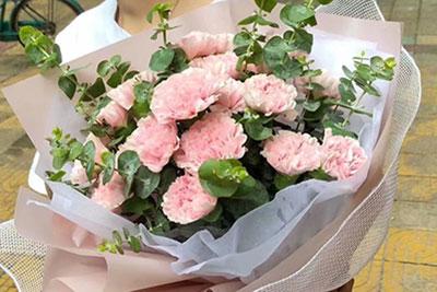 青岛订康乃馨,给妈妈长辈送花的好选择!