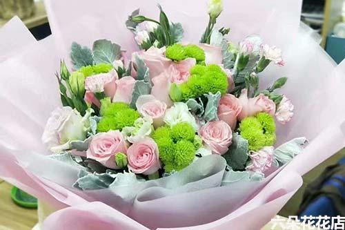 520给女朋友送花